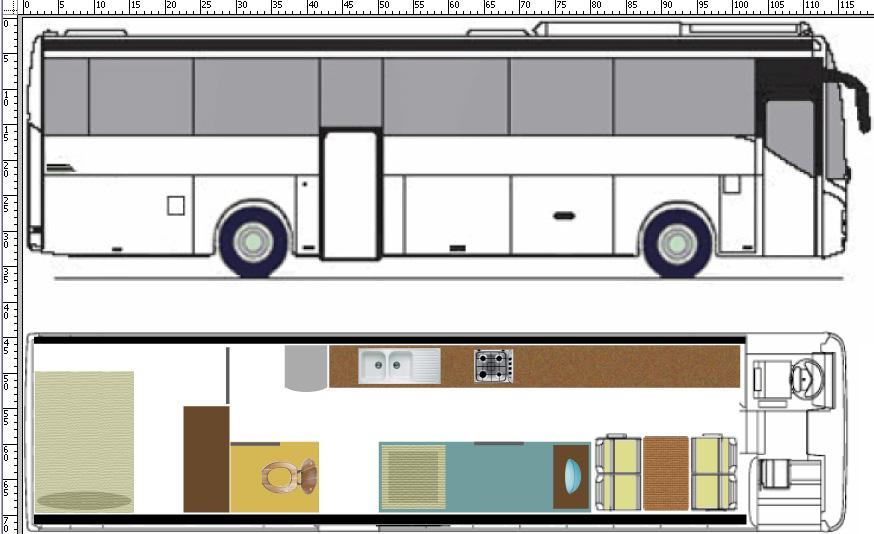 Extrêmement Habiter dans un bus - La technique - FORUM Tous en car KR35